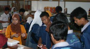 smk bustanul di workshop bandrek Hanjuang