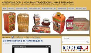 Toko Bandrek Hanjuang Online