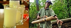 Lahang drink - tradisional drink Indonesia