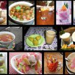 Aneka minuman tradisional Indonesia yang terbuat dari rempah-rempah