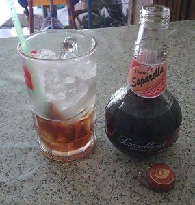 limun sarsaparilla - taste tradisional drink indonesian