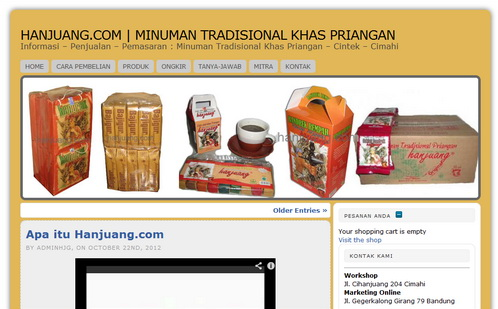 how to buy bandrek hanjuang sachet online