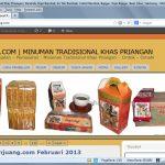 Jual Bandrek, MInumanan Tradisional Khas Jawa Barat Online
