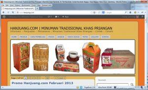 Cara Promosi Minuman Tradisional via Internet