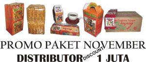 PROMO November Paket Distributor