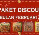 Paket Discount Di Bulan Februari 2014