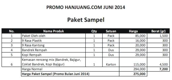 paket sample
