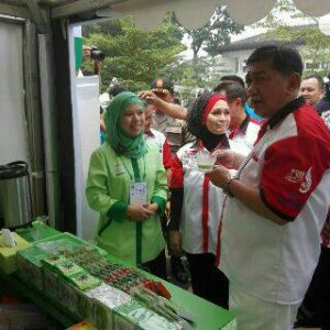 Pa Wagub di Bandung Tea Festival
