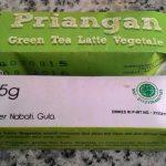 Minuman Green Tea Latte untuk Cafe, Resto, Kantin dan Kantor