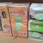 Paket Latte Hanjuang : Green Tea Latte, Green Coffe Latte, dan Black Tea Latte Vegetale